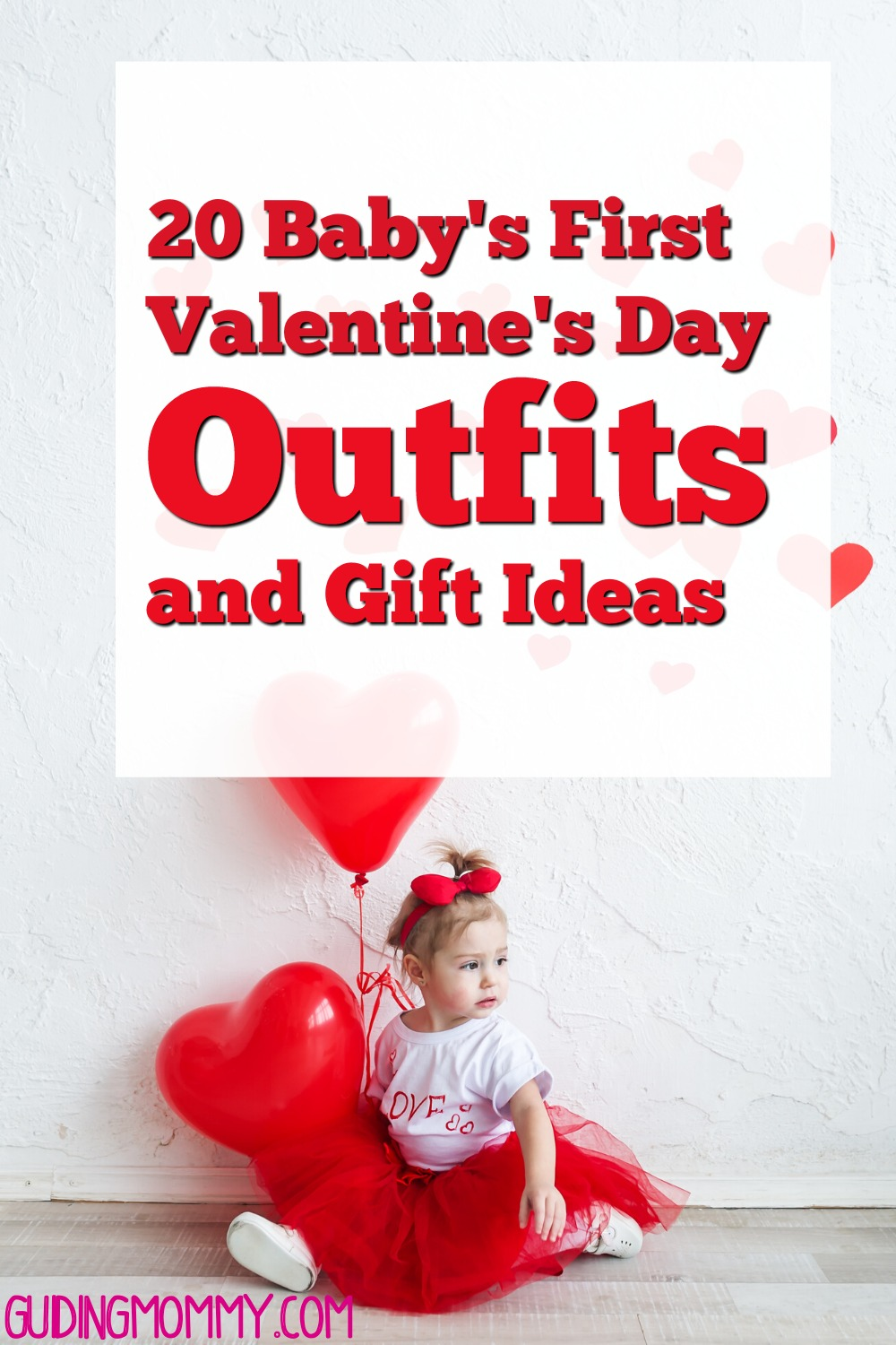 baby in valentine's day outfit