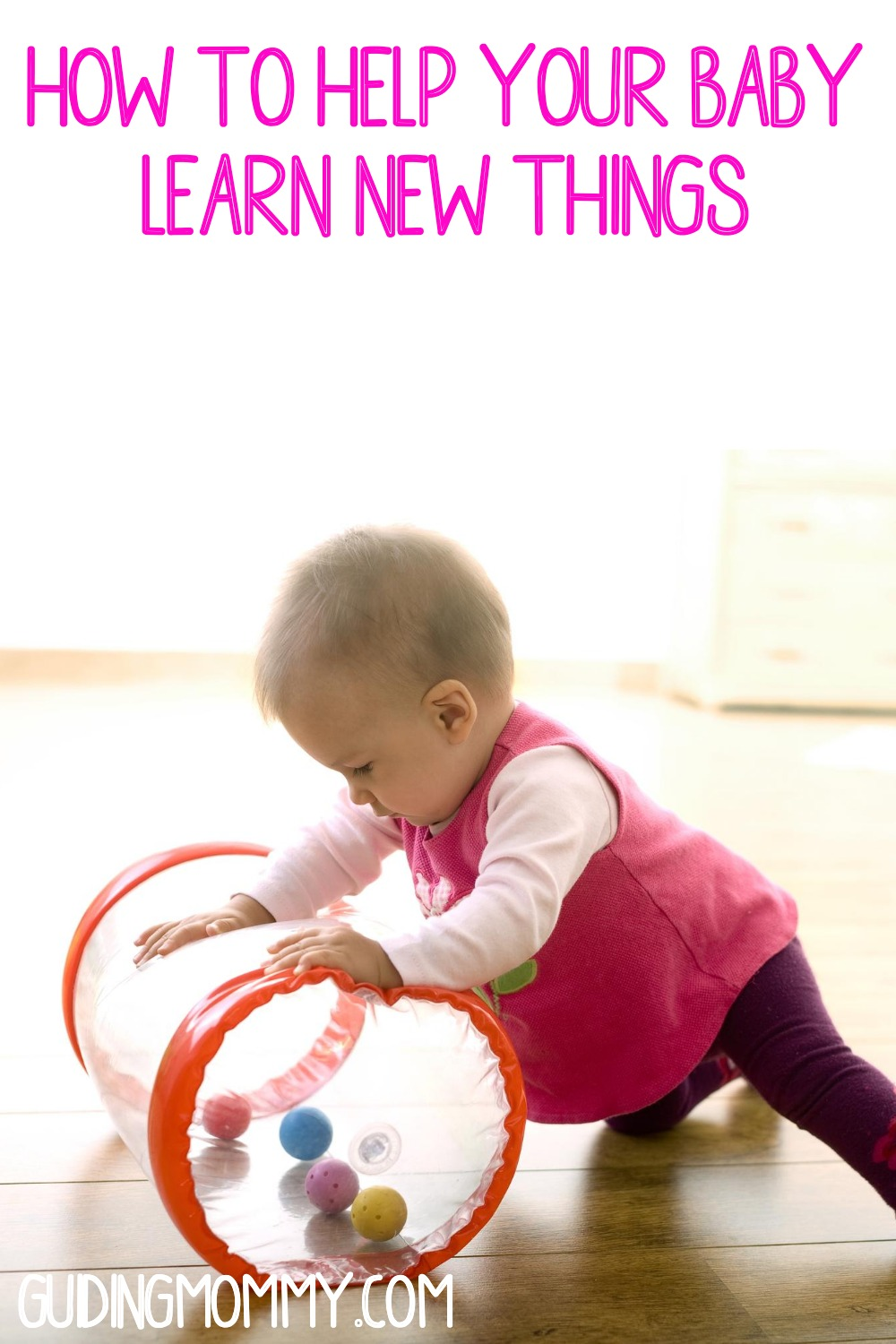 help your baby learn new things