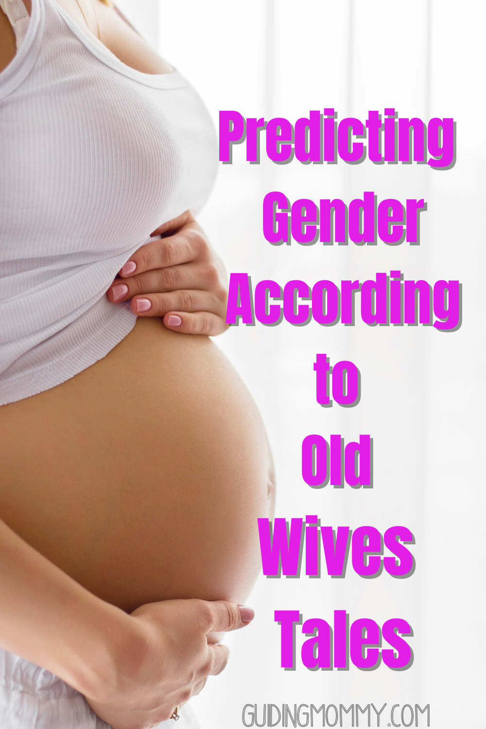 Predicting Gender According To Old Wives Tales