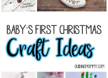 Baby's First Christmas Craft Ideas